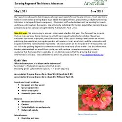 Plant Health Care Report, Issue 2015.3