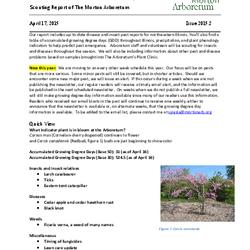Plant Health Care Report, Issue 2015.2