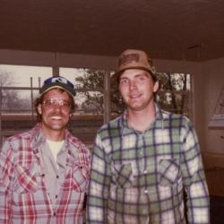 Carpentry department staff, Gary Grisko and Joe Strzelczk