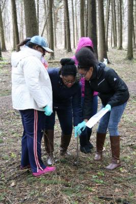 Students on a STEM field trip
