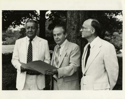 Presentation of check for $125,000 to The Morton Arboretum by ARCO