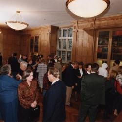 George Ware Retirement Party in Founders Room - overview of group