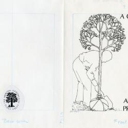 People planting trees: A Guide To Arbor Day Programs, front and back cover