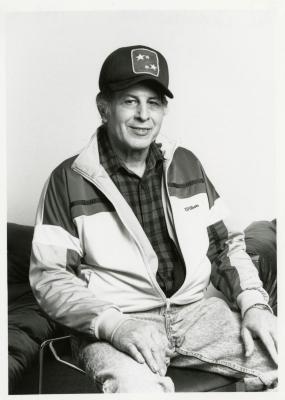 Paul Consolazione, seated portrait