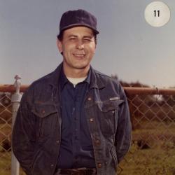 Paul Consolazione, outdoor portrait