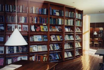 Sterling Morton Library periodical shelves