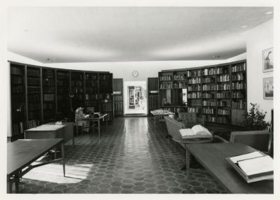 Sterling Morton Library Reading  Room