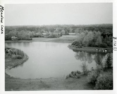 Meadow Lake, aerial view