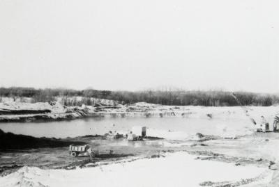 Arbor Lake under construction