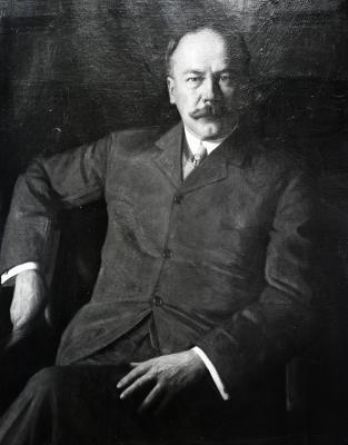 Portrait of Paul Morton