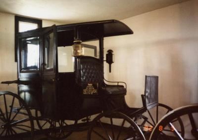 Arbor Lodge State Historical Park and Mansion, Taxi Purchased By Joy Morton