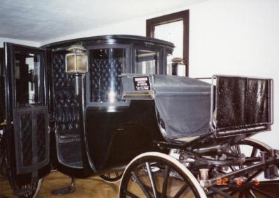 Arbor Lodge State Historical Park and Mansion, Brougham Purchased By Joy Morton