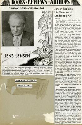 Books, Reviews, Authors: Jensen Explains His Theories of Landscape Art