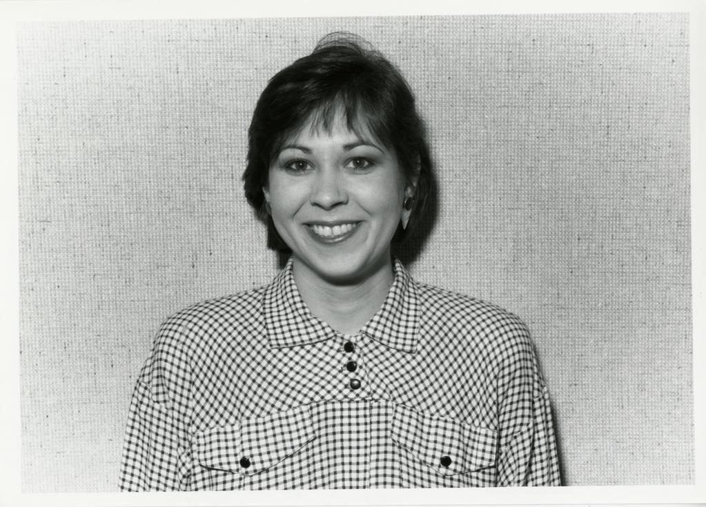 Marsha Davis, portrait, textured background