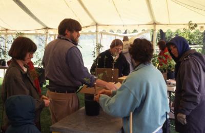 Arbor Week surplus plant sale
