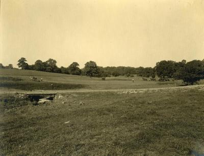 So called 'Round Meadow' when work started on Lake Marmo