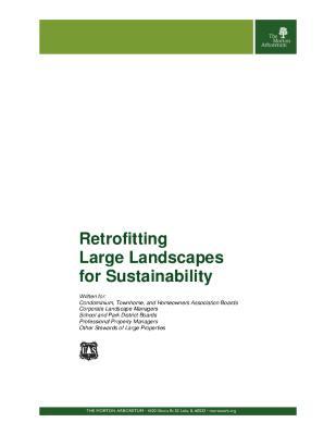 Retrofitting Large Landscapes for Sustainability