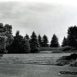Upper level of the Hedge Garden
