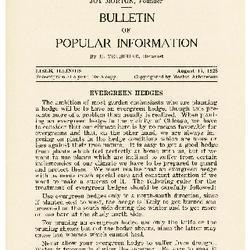 Bulletin of Popular Information V. 06 No. 06