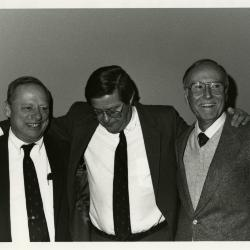Don Heldt Retirement Party - (L to R): Charles Haffner, Don Heldt, Marion Hall