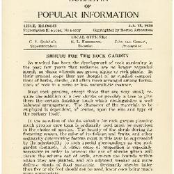 Bulletin of Popular Information V. 07 No. 13 Index