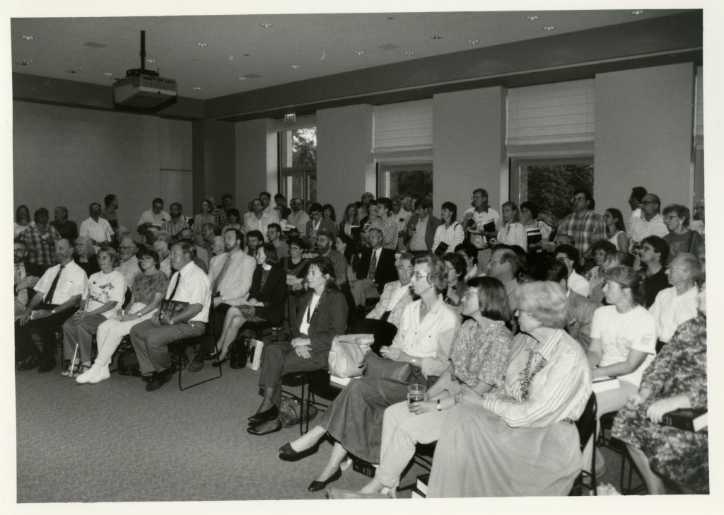 Audience at Swink-Wilhelm book signing at Thornhill
