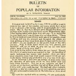Bulletin of Popular Information V. 05 No. 01