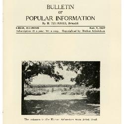Bulletin of Popular Information V. 05 No. 08
