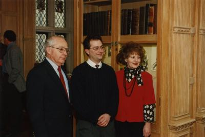 George Ware Retirement Party in Founders Room - George Ware, John Ware, June Ware