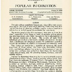 Bulletin of Popular Information V. 08 No. 01
