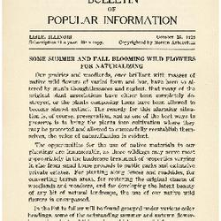 Bulletin of Popular Information V. 07 No. 05