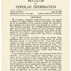 Bulletin of Popular Information V. 06 No. 13 Index