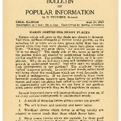 Bulletin of Popular Information V. 05 No. 07