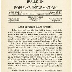 Bulletin of Popular Information V. 11 No. 01