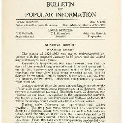Bulletin of Popular Information V. 10 No. 08