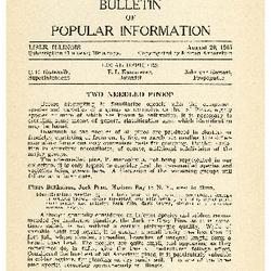 Bulletin of Popular Information V. 12 No. 12