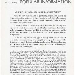 Bulletin of Popular Information V. 15 No. 01