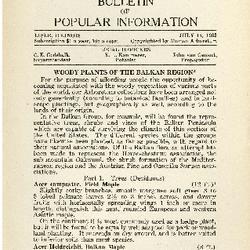 Bulletin of Popular Information V. 09 No. 13 Index