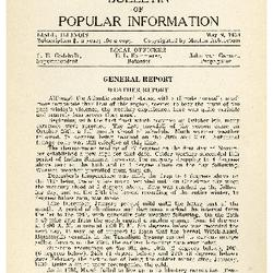 Bulletin of Popular Information V. 11 No. 07