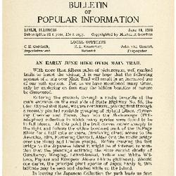 Bulletin of Popular Information V. 10 No. 10