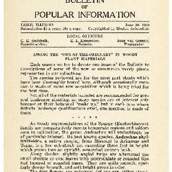 Bulletin of Popular Information V. 11 No. 10