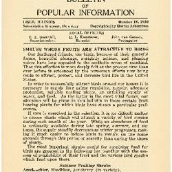 Bulletin of Popular Information V. 08 No. 05