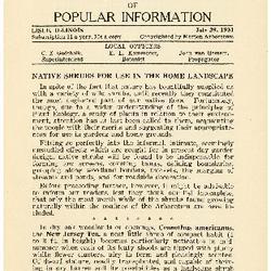 Bulletin of Popular Information V. 09 No. 01