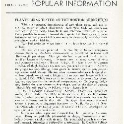 Bulletin of Popular Information V. 13 No. 10