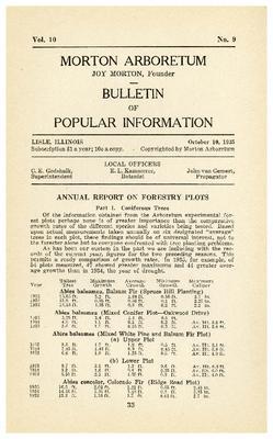 Bulletin of Popular Information V. 10 No. 09