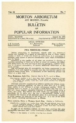 Bulletin of Popular Information V. 10 No. 07