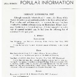 Bulletin of Popular Information V. 13 No. 01