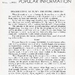 Bulletin of Popular Information V. 14 No. 03