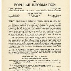 Bulletin of Popular Information V. 11 No. 09