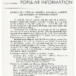 Bulletin of Popular Information V. 15 No. 07